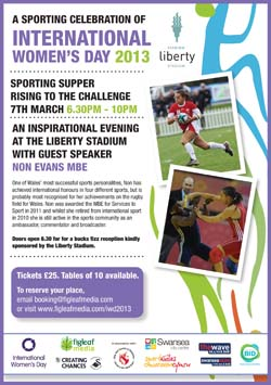 Sporting Supper Poster